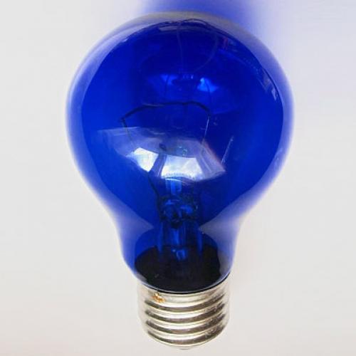Синяя кварцевая лампа